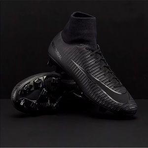Nike Mercurial Victory VI DF FG Triple Black 🔥